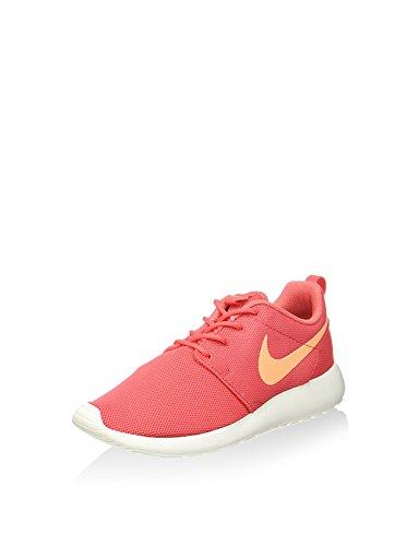 Womens Nike Roshe One Sneaker (10, Gloei / Perzikroom / Zeil)
