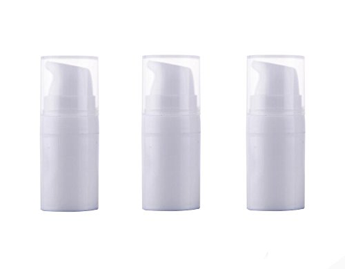 3PCS Airless Pump Bottles-Empty Portable Plastic Mini Bayone