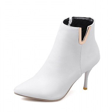 RTRY Women'S Boots Spring Fall Winter Platform Comfort Novelty Patent Leather Leatherette Wedding Office &Amp; Career Dress Casual Party &Amp; Evening US6 / EU36 / UK4 / CN36 FtU6tM0
