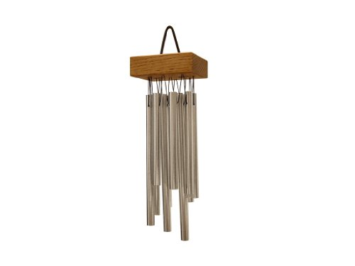 TreeWorks Chimes TRE418 Made in USA Small Cluster Wind Chime (VIDEO)