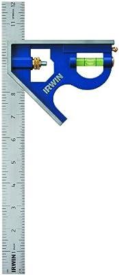 "Irwin Tools Combination Square, Metal-Body, 12"", 1794469 - 10136222 , B005XUHIBG , 285_B005XUHIBG , 610816 , Irwin-Tools-Combination-Square-Metal-Body-12-1794469-285_B005XUHIBG , fado.vn , Irwin Tools Combination Square, Metal-Body, 12"", 1794469"