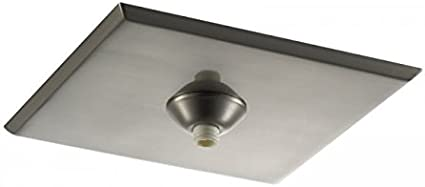 Wac Lighting Qmp 1sq Tr Bn Surface Mount Canopy Metal For Quick Connect Pendants Fixtures Home Improvement