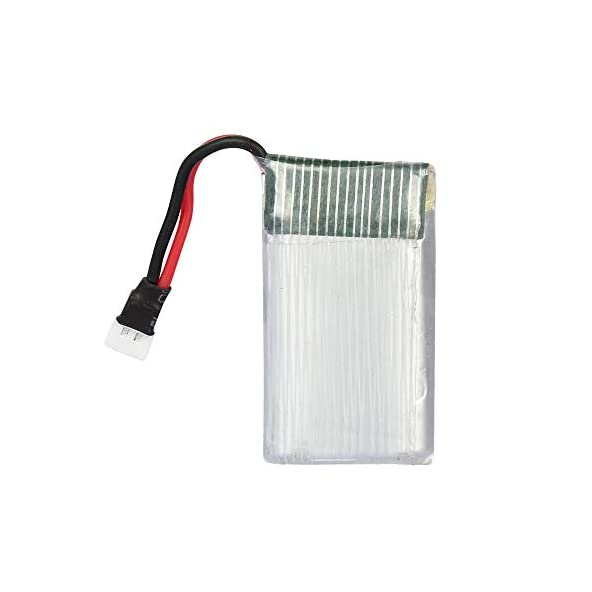 ANSHIKAPOWER 3.7 V 650 mAh 20C LiPo Rechargable Battery for Drone, RC Helicopter, Bluetooth, DIY