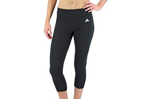 Adidas Climalite Mid-Rise 3/4 Tight (X-Large, Black)