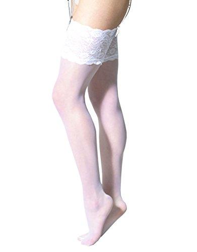 CALZITALY Italiana Reggicalze Calzetteria Avorio Calze Avorio Da Nero Donna Calze Naturale Sexy Bianco Per r6UrqF