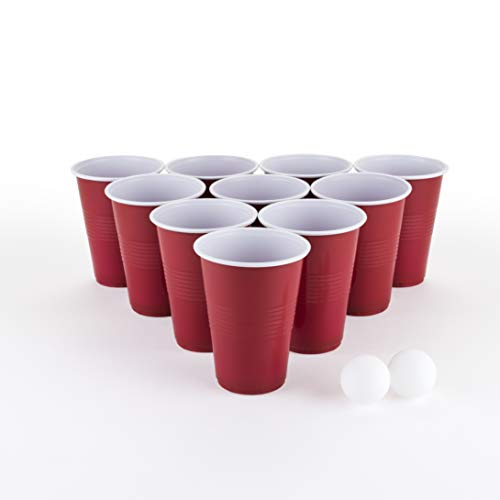 Collins Accessories BP20 Beer Pong Kit, Brown]()