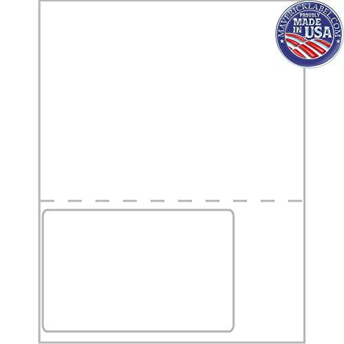 MaverickLabel.Com FC-0017 Integrated Label Sheets - 1 Up, 6