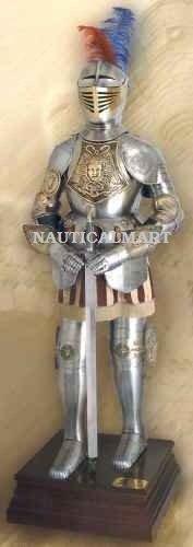 NauticalMart 16th Century Knight Spanish Suit of Armor Authentic Antique (16th Century Swords)