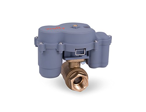 Valve Off Shut Water Automatic (Wally Wireless, Automatic Water Shutoff Valve + 3/4