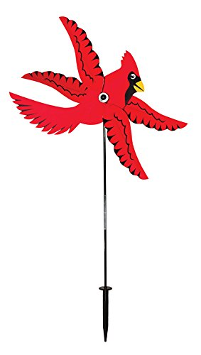 - In the Breeze 2551 Whirlygig Wind Spinner, Cardinal