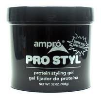 Ampro Pro-Style Protein Gel Super Hold Jar, 32 Ounce