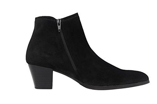 Gabor31.684 - Botas plisadas Mujer Negro - negro