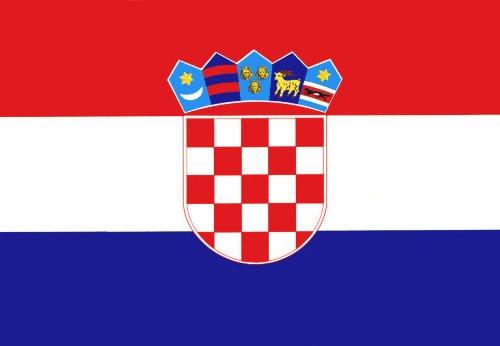 "BRAND NEW Soft croatia National Flag Blanket size: 50""x60"""