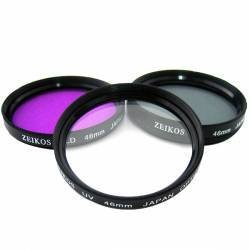 High Definition 0.45x Wide angle and 2x Telephoto Lens Kit Plus 3 Filters and Lens Adapter For Sony DSC-RX100 Camera by A&R