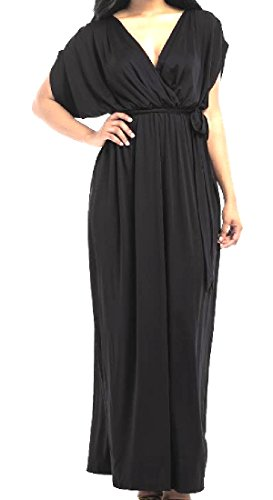 Size Black Womens Ruffle Western Baggy Plus Dress Loose Comfy Strappy 7TqAfZwT