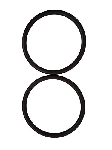 (Roo Threads Premium Aluminum Rings for Baby Slings, Black )