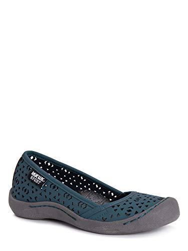 MUK LUKS Women's Women's Sandy Sport Shoe-Turquoise Sandal, Turquoise, 10 M US