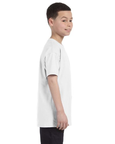 Gildan Heavy Cotton youth t-shirt White XS