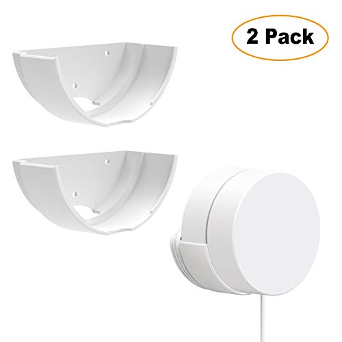 Google WiFi Wall Mount, Google Router Mesh Holders, Best Design for Winding Power Cord,2 Pack