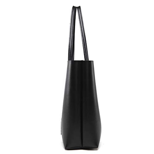 de Dark Gray para Cuero de Hombro Mujer Bolso Bolso Green 32x12x31cm fxdwf4