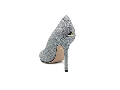 Jeans Vestir LIU Cuero para Zapatos de Plateado Mujer de Jo q7gRrR5WwI