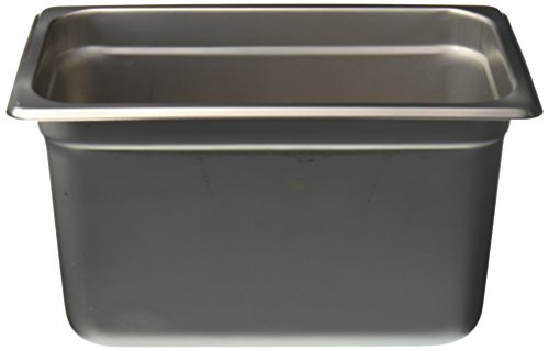 Winco SPJL-406 Anti-Jamming Steam Pan, 1/4 by 6-Inch, Standard Weight