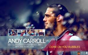 Eight Inch Round West Ham United Andy Carroll Edible (Edible Ham)
