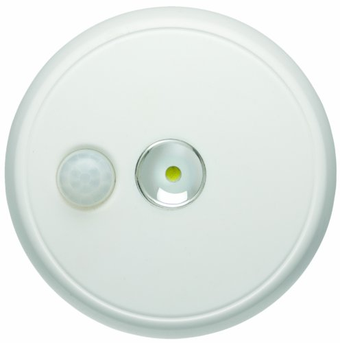 Outdoor Motion Sensing Ceiling Light: Mr. Beams MB980 Wireless Battery-Operated Indoor/Outdoor