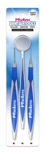 Herramientas de Plackers Dental con Pick, espejo y escalar