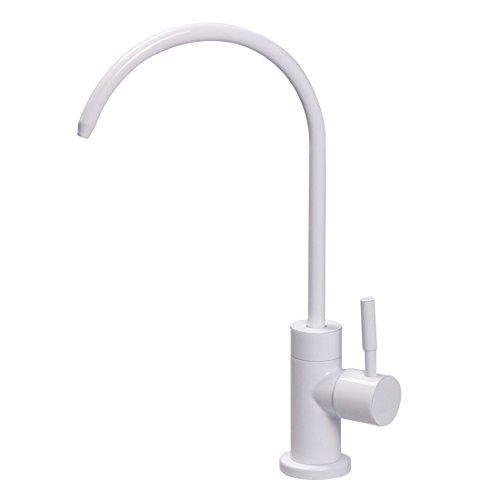 Lead-Free Stainless Steel Beverage Faucet Cold Water Bar Sink Drinking Water Filtration System Water Filter Purifier Faucet Brushed (Cold Filter Faucet)