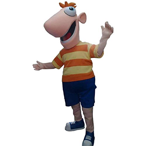 Phineas of Phinias and Ferb Mascot Character Costume