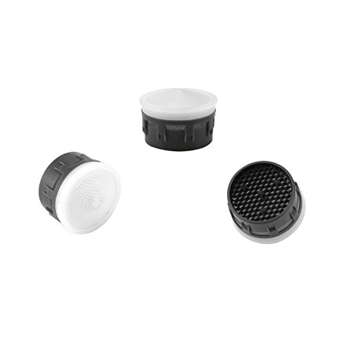 (Kelica Faucet Replacement Part Faucet Aerator Insert Tap Flow Restrictor For Bathroom Lavatory or Kithen Sink Faucet, 3 PCS/Pack)