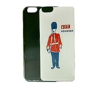AIKUSU? Newest London Soldier Pattern Epoxy Gel Case for iphone 4 4s