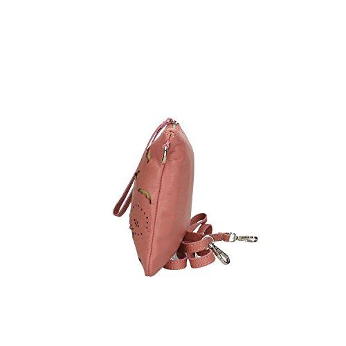 29x18x2 Clutch Petit Cipria Chicca main Borse fabriqué cuir Femme en à véritable Sac Cm en Italie A5TwOqxT