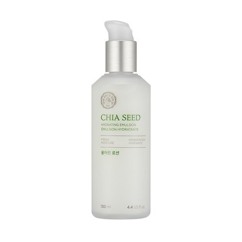 [THEFACESHOP] Chia Seed Hydrating Emulsion Lotion, Simple Skin Care Or Normal To Oily Skin, Dermatologist Tested 130mL/4.4Oz