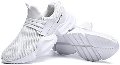 YZWD Zapatillas Running Hombre Oferta Deportivas Transpirables Fitness Casual Volar Zapatos De Malla Transpirables Correr Calzado Deportivo Calzado Casual Calzado De Hombre Ligero 8.5 C: Amazon.es: Zapatos y complementos