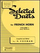 Hal Leonard Selected Duets for French Horn Vol.1 Voxman
