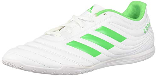 20bb21a58 adidas Men s Copa 19.4 Indoor Soccer Shoe Solar Lime White