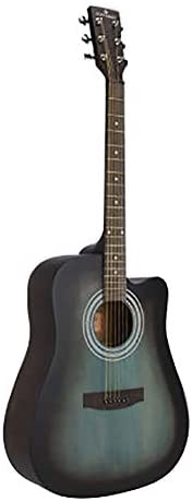 """ZZRS 41"""" ボーイズ/ガールズ/中学生/初心者のための完全なシングルアコースティックギター、スタイリッシュでシンプルなギター、ギターの様々な色、 (Color : Brown green)"""