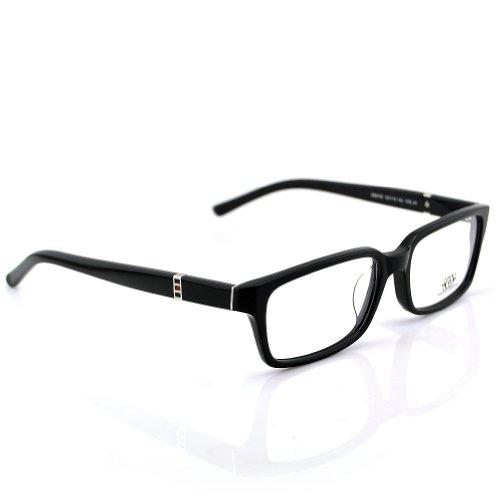New Pensee Eyeglasses Prescription Black Rectangle Optical Frame 54mm Demo Lens (54 Mm Eyeglasses)