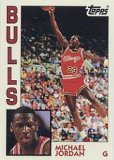 Topps Michael Jordan Archives Basketball 'Rookie' Card In Protective Display Case