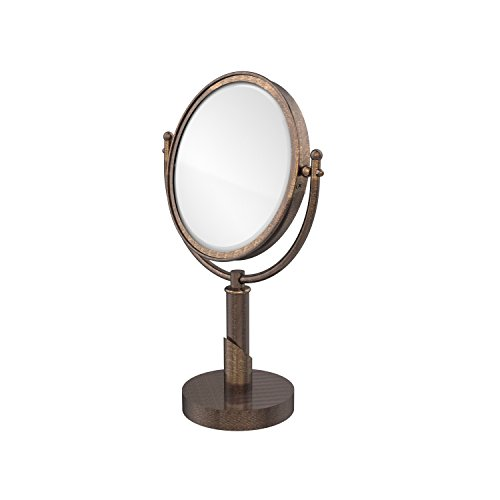 Allied Brass SH-4/5X-VB 8-Inch Table Mirror with 5X Magnification, Venetian Bronze