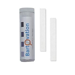 USA Made Restaurant Sanitizer Chlorine Test Paper, 10-200 ppm [Vial of 100 Paper Strips]