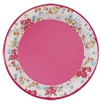 Pink Floral Ditsy Floral Paper Party Plates  sc 1 st  Amazon UK & Pink Floral Ditsy Floral Paper Party Plates: Amazon.co.uk: Garden ...