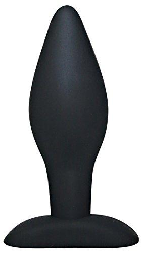 You2Toys Analplug Black Velvets Extra - extra großer Butt Plug aus Silikon für Männer und Frauen