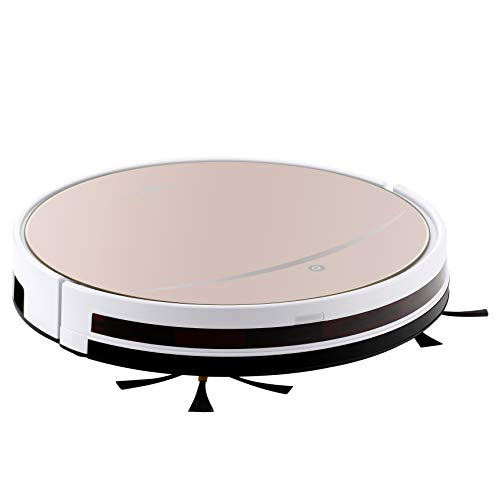 iView WiFi Smart Robot Vacuum Cleaner Works with Alexa, Google Assistant, Cleaning Robot with Sweep & Mop for Hard Floor & Short Carpet, Free APP, Control from Anywhere, Gold