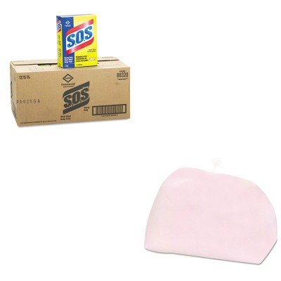 KITCOX88320CTPAG02101 - Value Kit - Procter amp; Gamble Professional Pot and Pan Presoak and Detergent (PAG02101) and Clorox Steel Wool Soap Pad (COX88320CT)
