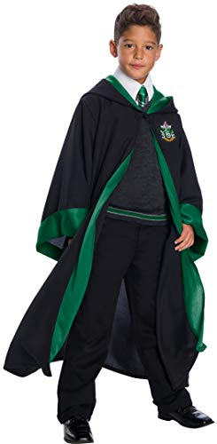Charades Slytherin Student Children's Costume, As Shown, Medium -