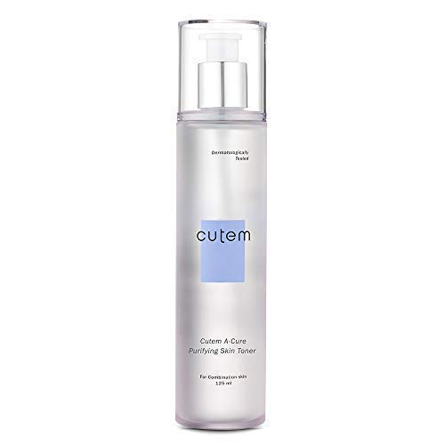 (Skinmed Cutem A-cure Purifying Skin Toner Sebum Control and Reduce Inflammation Instant 8H Hydration for Combination or Sensitive Acne Skin - 4.23 Fl Oz)