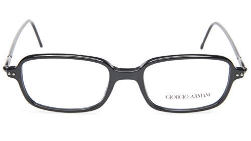 NEW GIORGIO ARMANI 387 020 BLACK EYEGLASSES GLASSES FRAME 51-18-140 B34mm Italy